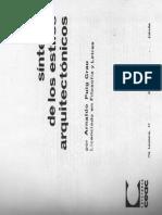 Sintesis de los Estilos Arquitectonicos CKCK.pdf
