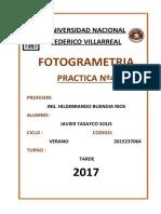 Trabajo de Fotogrametria
