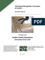 Fall Hazard Manual