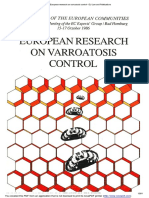 European Research on Varroatosis Control - EU Law and Publications
