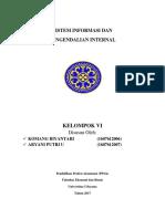 RMK BAB 6 Sistem Informasi Dan Pengendalian Internal