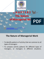 Leadership The Nature of Managerial Work