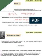 Equilibrio Acido Base - 1