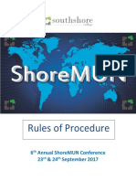Rules of Procedure With Sample PP