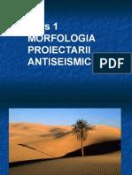 Curs 1 - Morfologia Proiectarii Antiseismice