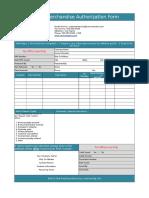 Contoh Form RMA