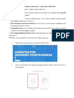 ceit319 lab1 creating website