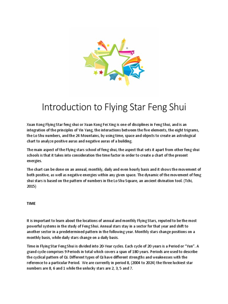 Flying Star Feng Shui Philosophical Science Science