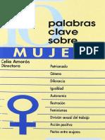 Celia Amorós (dir.) - 10 palabras clave sobre mujer.pdf