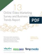 Online Video Marketing Trends Report