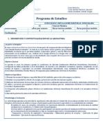 Programa de Estudios - Curso de Electricidad