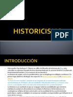 Historicism o