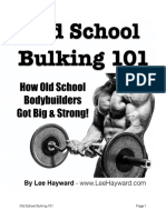 Old School Bulking 101