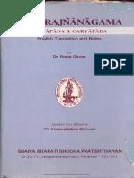Chandra Jnana Agama - Translation by Rama Ghose Ed. by Vraj Vallabha Dwivedi_Chapter 7_Pg 91-99