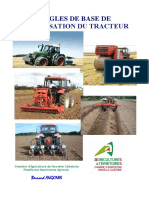 Règles Base Utilisation Tracteur