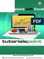 Excel Data Analysis Tutorial