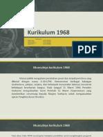 Kurikulum 1968 (Kel.4)