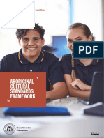 aboriginal cultural standards framework