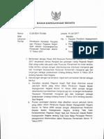Surat Kepala BKN. Penetapan Kenaikan Pangkat dan Penetapan Pensiun PNS Setelah Diundangkannya PP No. 11 Tahun 2017.pdf