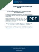 FAQs Septiembre 2017- Recubrimientos Teflón