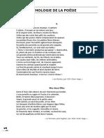 Anthologie de La Poésie