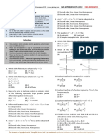 Mathematics - Problem Sheet Level 1 (2 Files Merged)
