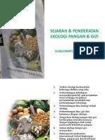 1 Sejarah Dan Pendekatan Ekologi Pangan Dan Gizi