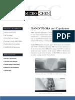 PMMA Data Sheet
