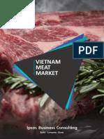 Meat Market in Vietnam
