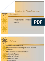 Introduction to Fixed Income Securities