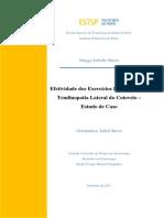 Efetividade dos Exercícios Excêntricos na Tendinopatia Lateral do Cotovelo