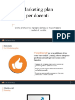 Life Learning - Piano Marketing per i docenti
