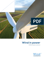 WindEurope Annual Statistics 2016