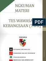 Materi Tes Wawasan Kebangsaan (Twk)
