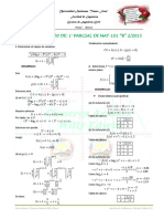 Primer Parcial G-B Mat-101 Solucionario