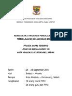 Kertas Kerja Lawatan Sambil Belajar ke Kundasang, Sabah