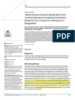 Determinants of Severe Dehydration From