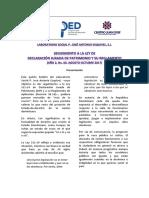 boletín 5.1. Ley 311-14-1 / V Boletín del Laboratorio Social P. José Antonio Esquivel de la PUCMM