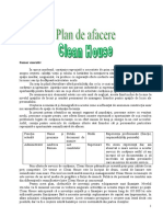 Plan de Afacere Clean House 2 4