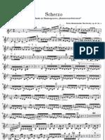 Violine 2 Scherzo Aus Sommernachtstraum