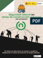 Seguridad Laboral en Obras de Construccion Menores