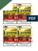 Nama Tag Lawatan Pra 2017
