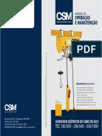 R01 - Manual Guincho Eletrico TEC 100-300-500