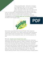 Formula Sabun Cair Cuci Piring Yang Berkualitas