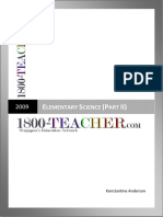 G1 Elementary Science (Part II)