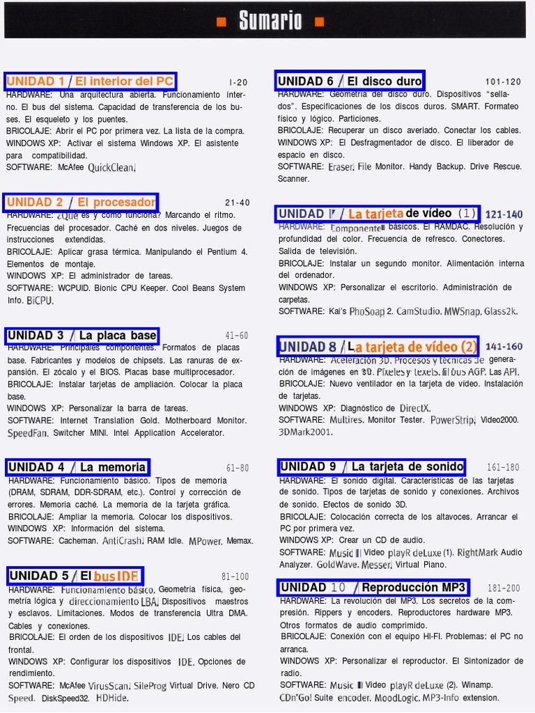INFORMATICA - APUNTES Equipos Microinformaticos