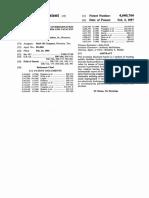 Hamilton US Patent