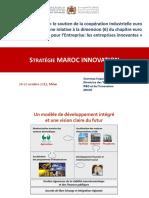 La Strategie Marocaine de l'Innovation