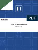 Fortios v5.4.6 Release Notes