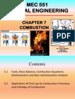Chap 7 Combustion